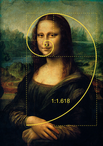 Mona lisa golden ratio