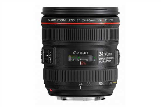 Canon 24-70mm f4l is usm