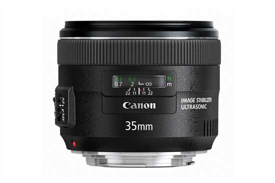 Canon 35mm f2l is usm