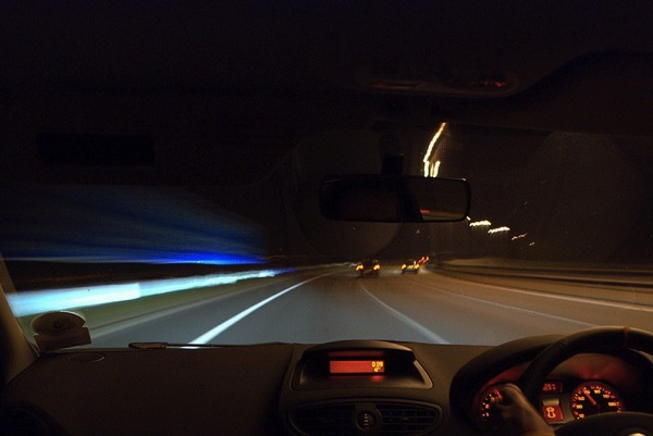 Light trail mobil 2