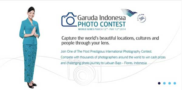 Garuda indonesia world photo contest 2014