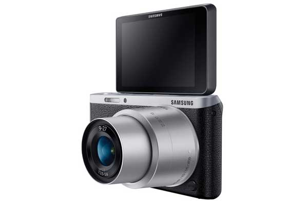 Samsung nx mini samping