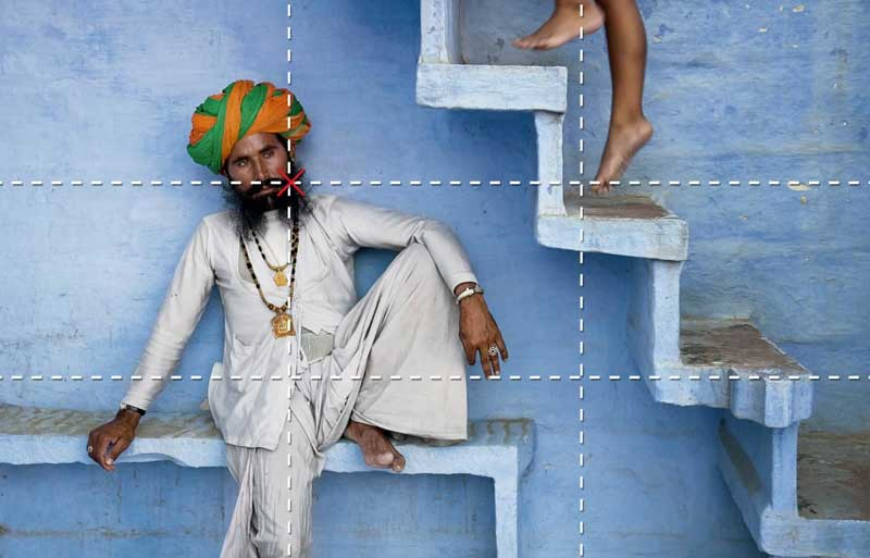 Rule of thirds mccurry